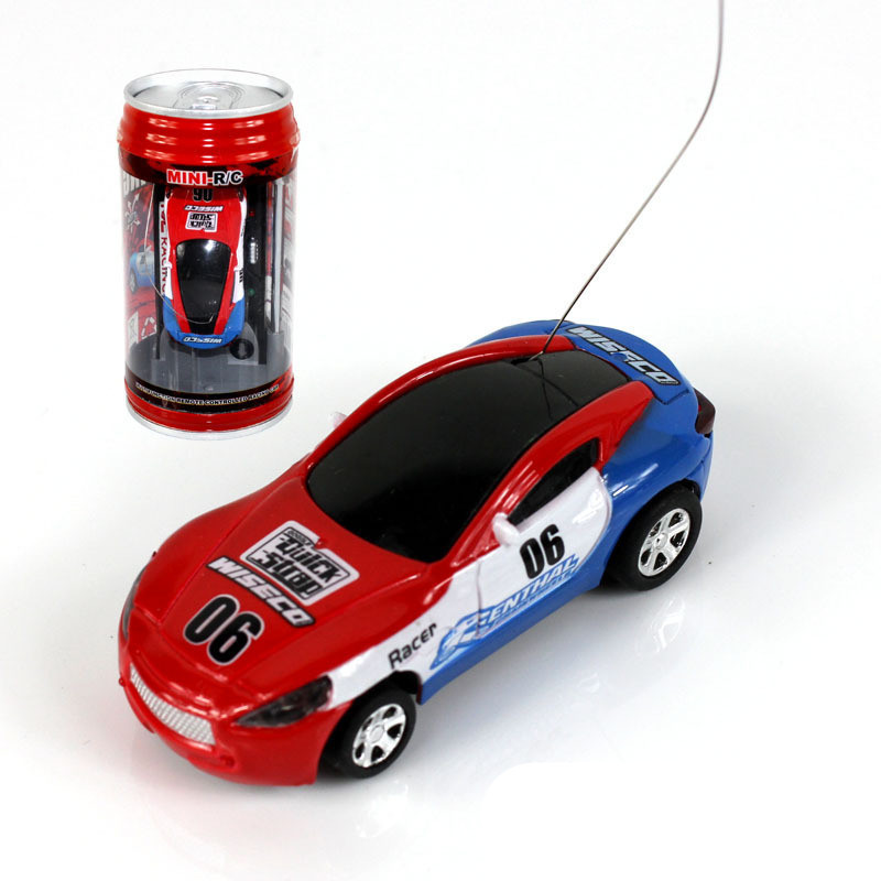 new 4ch rc car mini coke can car racing cars radio remote control micro car hobby vehicle toy. Black Bedroom Furniture Sets. Home Design Ideas