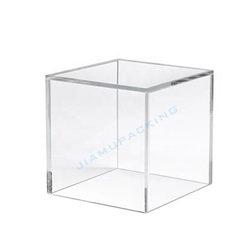 Clear Small Plastic Acrylic Candy Dessert Boxes with Lid
