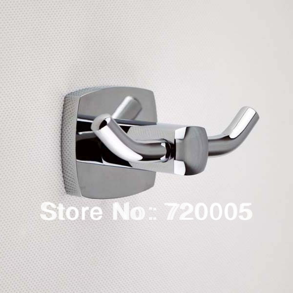 Free shipping bathroom accessories wall mounted chrome - Chrome plated brass bathroom accessories ...
