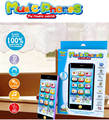 English 3 simulation learning machine toy touch screen music phones with light baby educational toys 2