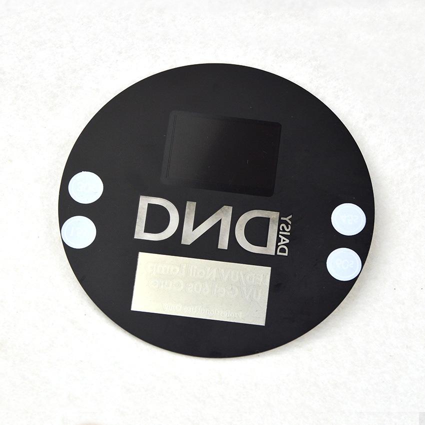 Шелковая печать CNC резка Светодиодная лампа для ногтей акриловая сенсорная панель с сенсорным управлением