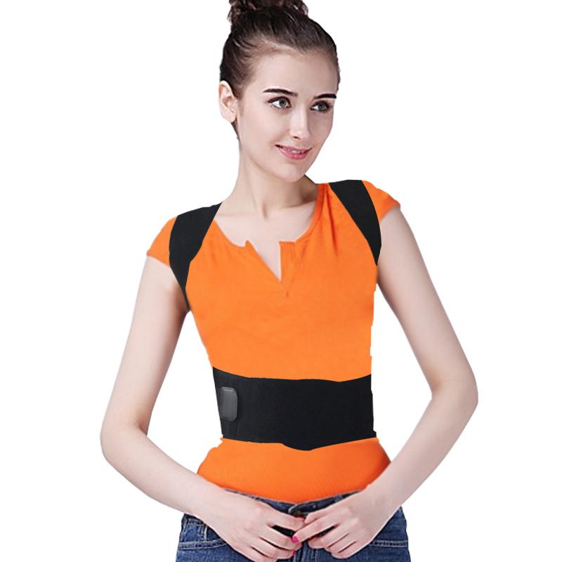 Unisex Adjustable Back Posture Corrector Brace Back ...
