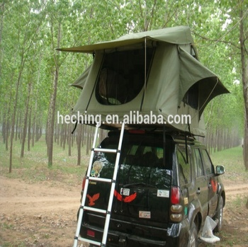 Deluxe Multi Person Used Canvas Tent for Off-road Vehicles