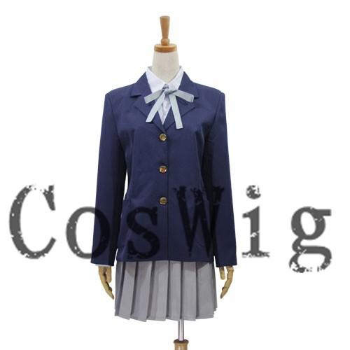 Костюм K on Mio Akiyama Hirasawa Yui Аниме Косплей Костюм Униформа костюм на Хэллоуин