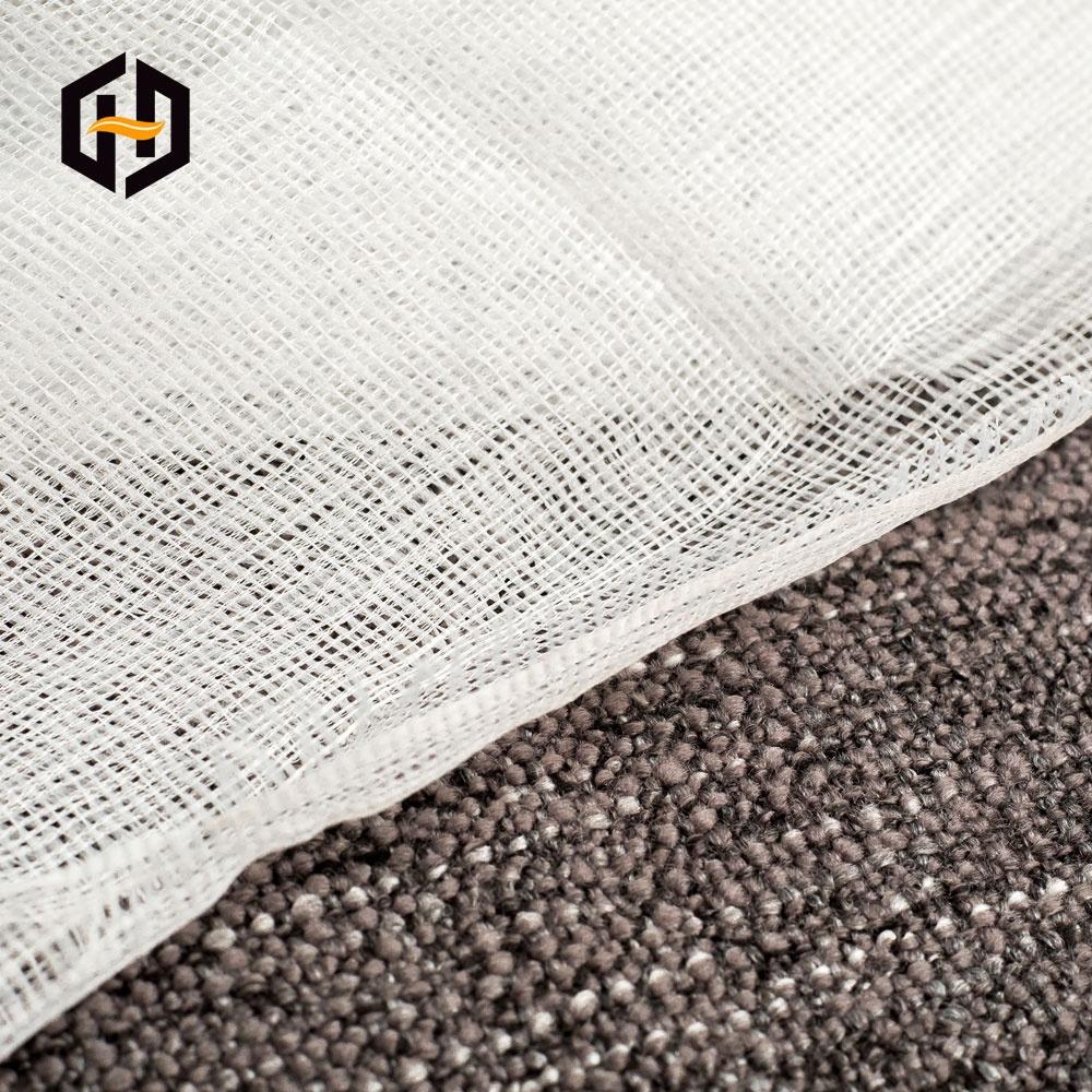 Оптовая продажа с фабрики, 100% полиэстер, 40/75D, трикотажная серая ткань для тканевой клейкой ленты