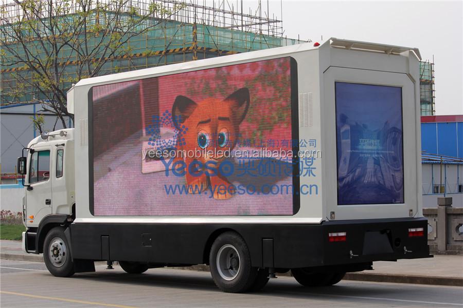 Digital Mobile Billboard Truck For Sale,Outdoor Digital ...