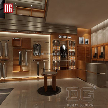 Modern Display Cabinet With Garment Shop Furniture Design