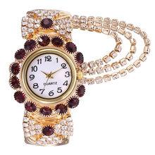 Женское платье, часы Khorasan, роскошные женские часы с бриллиантами, креативные кварцевые часы с бахромой, браслет reloj mujer, relogio femino Saat * A(Китай)