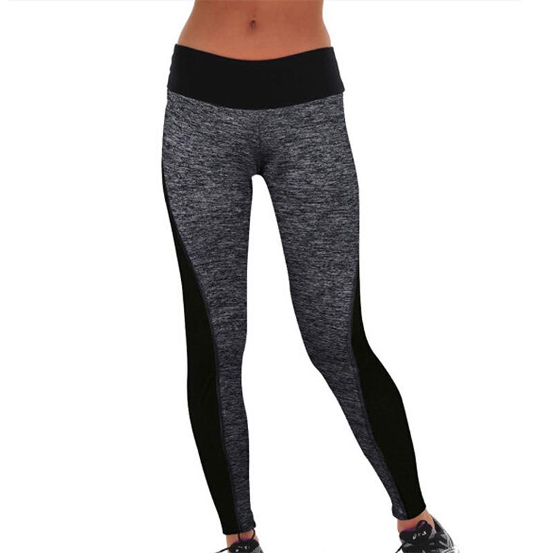 4bb34a7f1d 2016 Women Lady Activewear Legging Winter light grey Black Push Up Pant  High Waist Legging Soft Workout Pants Plus Size