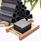 Authentic bamboo activity soap charcoal condensed soap acne face and body beauty health care soap