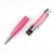 Stationery promotion kawaii usb pen with crystal usb flash drive