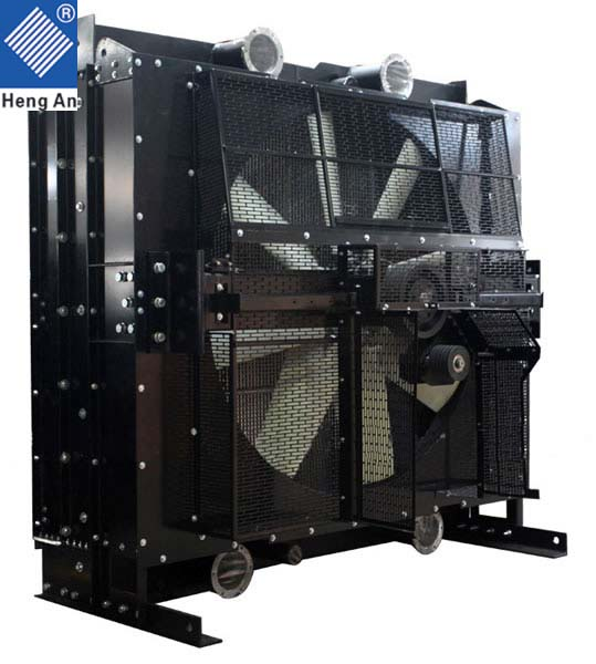Coummication data center diesel generator radiator for MTU 16V4000 series