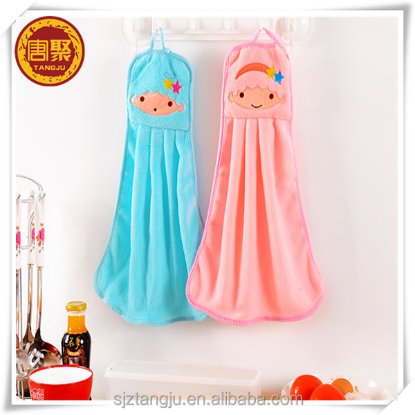 Cheap Decorative Hanging Kitchen Towels With Loop Microfiber Cartoon Hanging Towel Buy Cheap Kitchen Towels Kitchen Hand Towels With Ties Decorative Kitchen Towels Product On Alibaba Com