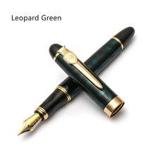 Ручка для перьевой ручки Jinhao, клипса для меча и щит, роскошное Золотое кольцо, средний наконечник, подпись в офисе школьная каллиграфия A6167(Китай)