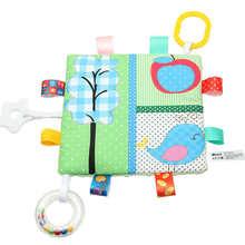 Милая многофункциональная этикетка, игрушка с бумажной зубной лентой, кольцо, Товары для малышей(Китай)
