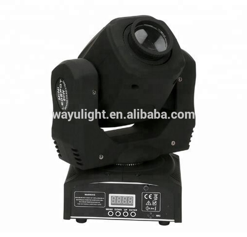 Professional China DMX 60W gobo led mini moving head spot led lighting for USA market