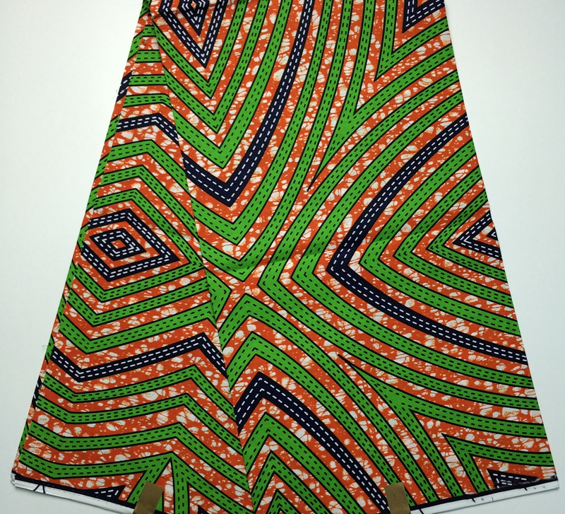 2016 Latest Fashion Design African Block Batik Printed