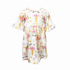 popular unicorn printing baby frock design pictures clothes cute gorgeous girl dress
