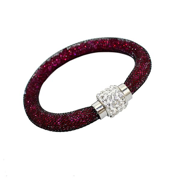 [ Мин. 6 $ ] Stardust браслеты для женщины с кристалл заполненные магнитный застежка B2-315