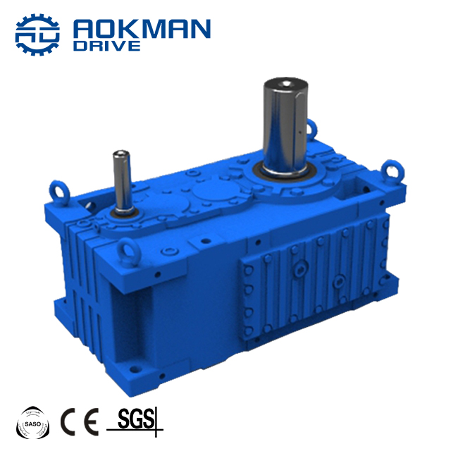 AOKMAN MCB Series Reducer Gearbox Motor Cast Iron Helical gearbox for Printing Shops Energy