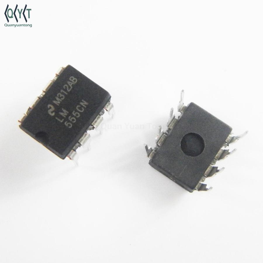 LM555CN Timers//Générateurs d/'horloge Boitier DIP