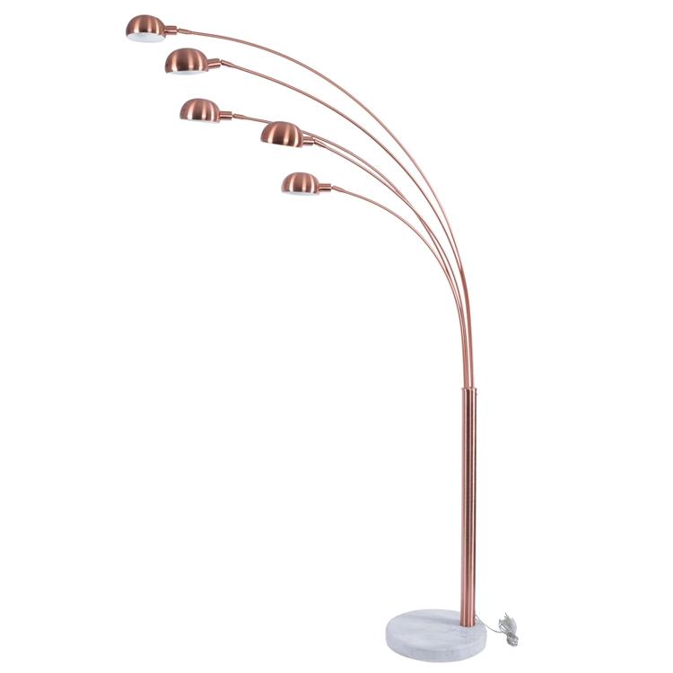 Marmor Basis Riesen Kupfer Gebogene Boden Lampen Fur Wohnzimmer Buy Wholesale Curved Floor Lamp High Quality Arc Floor Lamp Palm Tree Floor Lamp Product On Alibaba Com