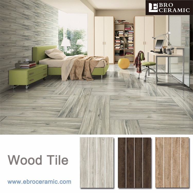 Non Slip Wood Look Porcelain Tile