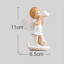 3 вида стилей VILEAD, фигурка Ангела из смолы для малышей, милые фигурки ангела, милые сказочные поделки для домашнего декора, креативные подарк...(Китай)
