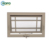 AWA Usa Standard Awning Style Insulated Double Glass Top Hung UPVC Windows For Villa