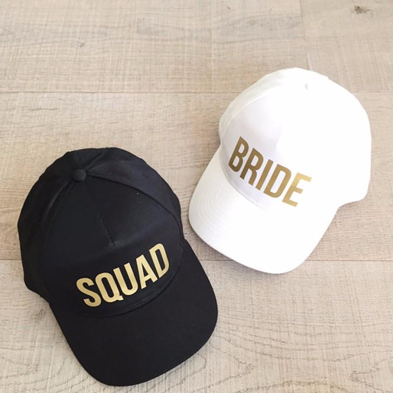 c7f26eccf8d0 Gorra de béisbol para novia, gorra de béisbol con estampado dorado,  sombreros de estilo nuevo para mujer, ropa de boda, gorra de verano de Hip  Hop ...