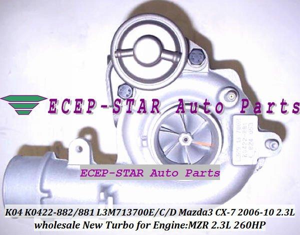 K0422-882 K0422-881 53047109901 L3M713700C / D / E турбо для Mazda 3 Mazda 6 Mazda CX-7 2005 - 10 2.3L MZR дизи ес 260HP