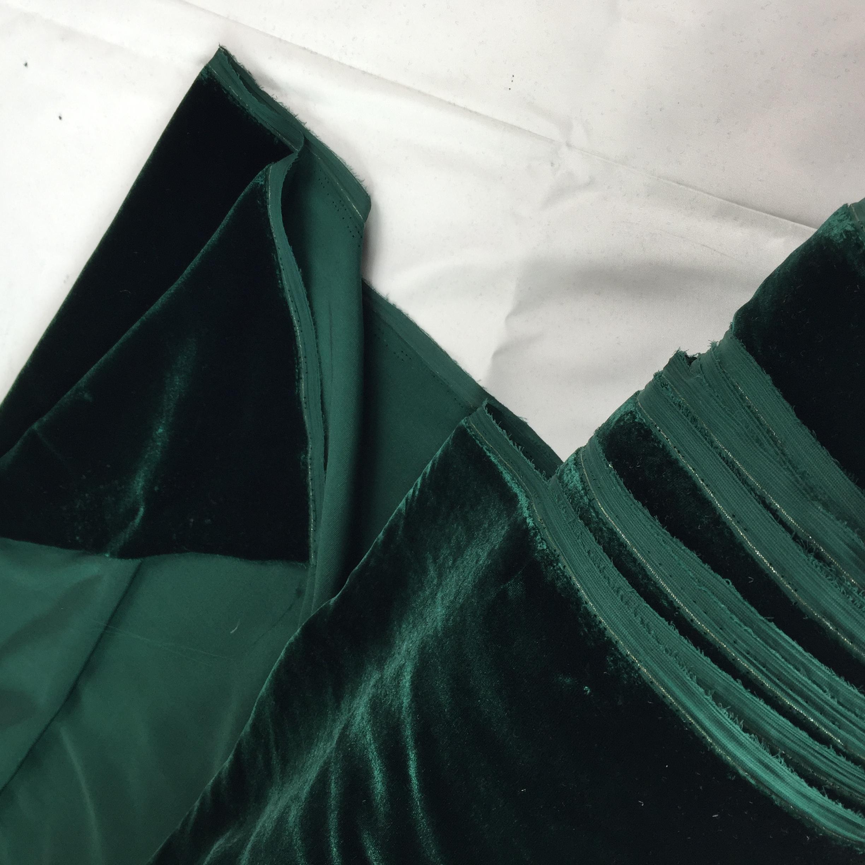140 см Широкий шелк Бархат Ткань, шелк вискоза бархат многоцветный
