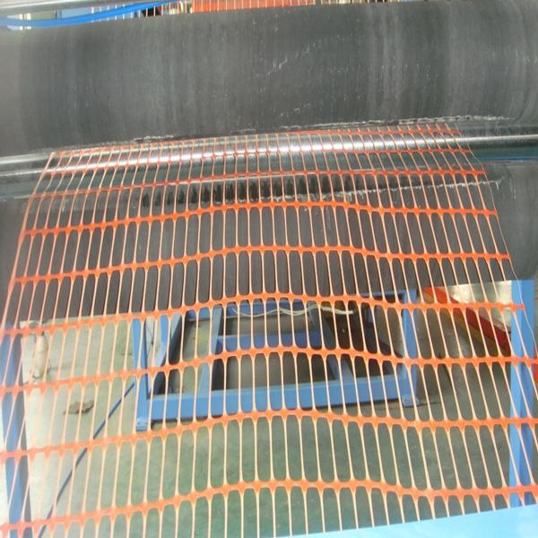 Orange Plastic snow fence/orange warning safety barrier fence/orange plastic safety fence