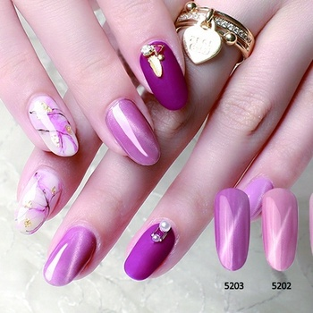 OEM design multi color long lasting no odor sweet color healthy cat eye gel nail polish with certificates