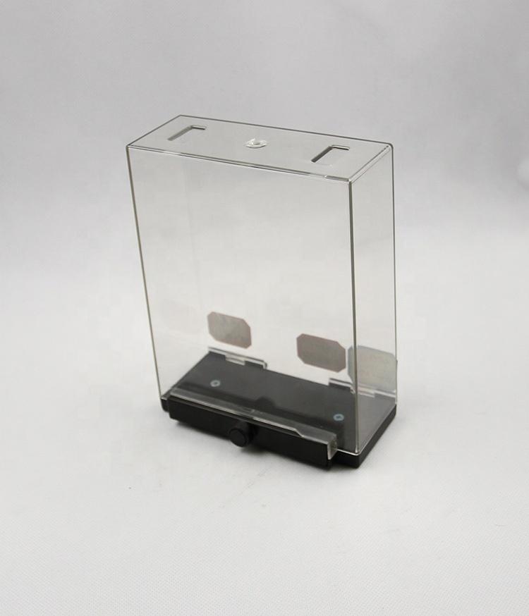 Perfume security box 58khz plastic EAS safer box