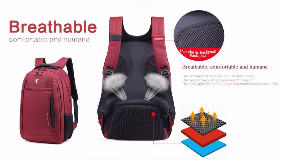 Tigernu Computer Laptop Backpack 15.6 inch USB School Bags Travel Business  Backpack Mochila Waterproof Free GiftUSD 30.31-32.29 piece 5c08c320c4125