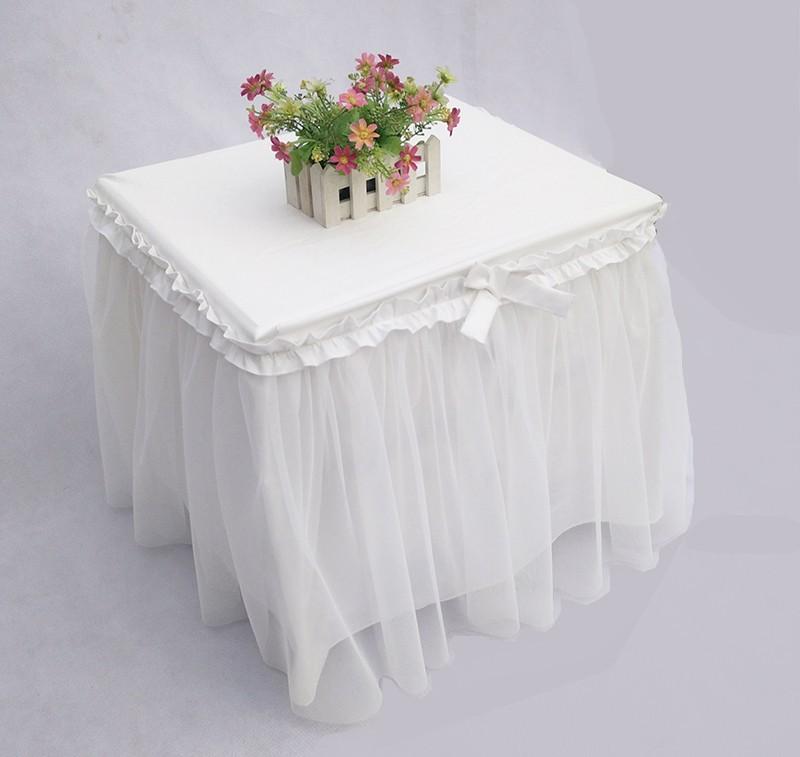 Online Get Cheap Bedside Table Skirts Aliexpress Com
