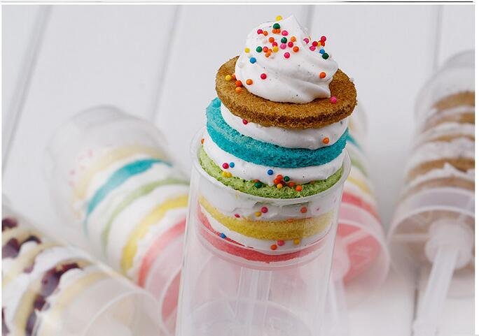 Cheap Cake Push Pop Containers