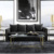 Wholesale factory modern cheap luxury black couch sofa furniture 7 seater set for living room