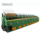 Polishing Mirrors Pipe Polishing Machine SS Pipe Polishing Machine With 8 Heads Polisher Mirrors Effect