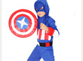 Halloween Party Supplies Captain America Cosplay Boy Clothing Halloween Costume for Kids Children Christmas Costumes Christmas