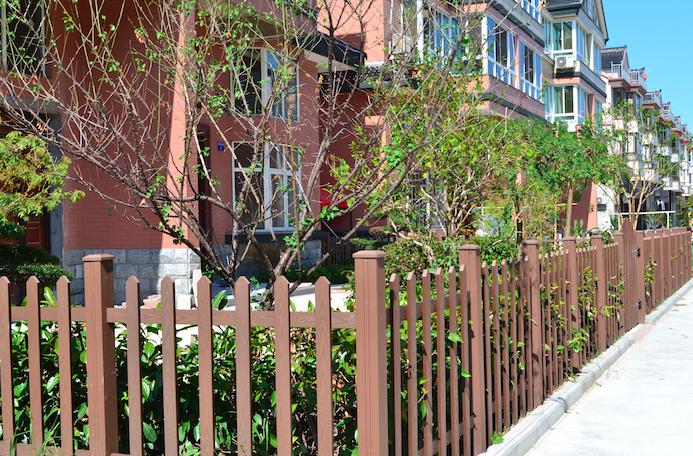 Деревянные декоративные перила из ДПК, перила балюстрады, высококачественные наружные перила лестницы/поручни, напольное покрытие