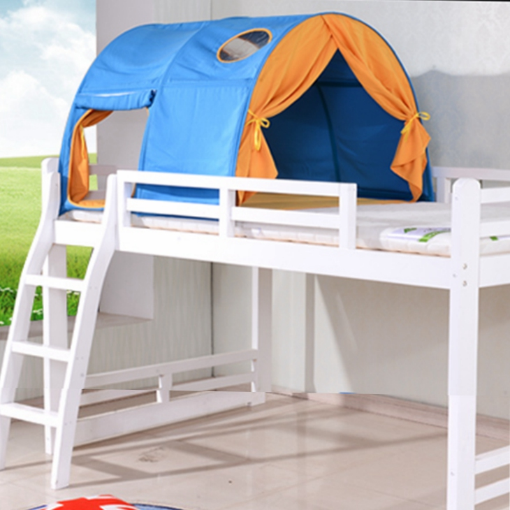 Kids Bed Bunk Tent Colorful Cotton Canvas Kids Bed Tunnel Tent Canopy For Children Bunk Bed Buy Cotton Canvas Bed Bunk Bed Tent Cotton Canvas Canopy Bed Curtains Girls Bed Canopies With Cotton