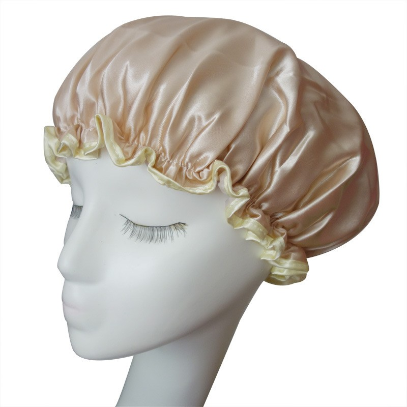 High Quality Satin Bonnet Customer Design Logo Sleep Caps