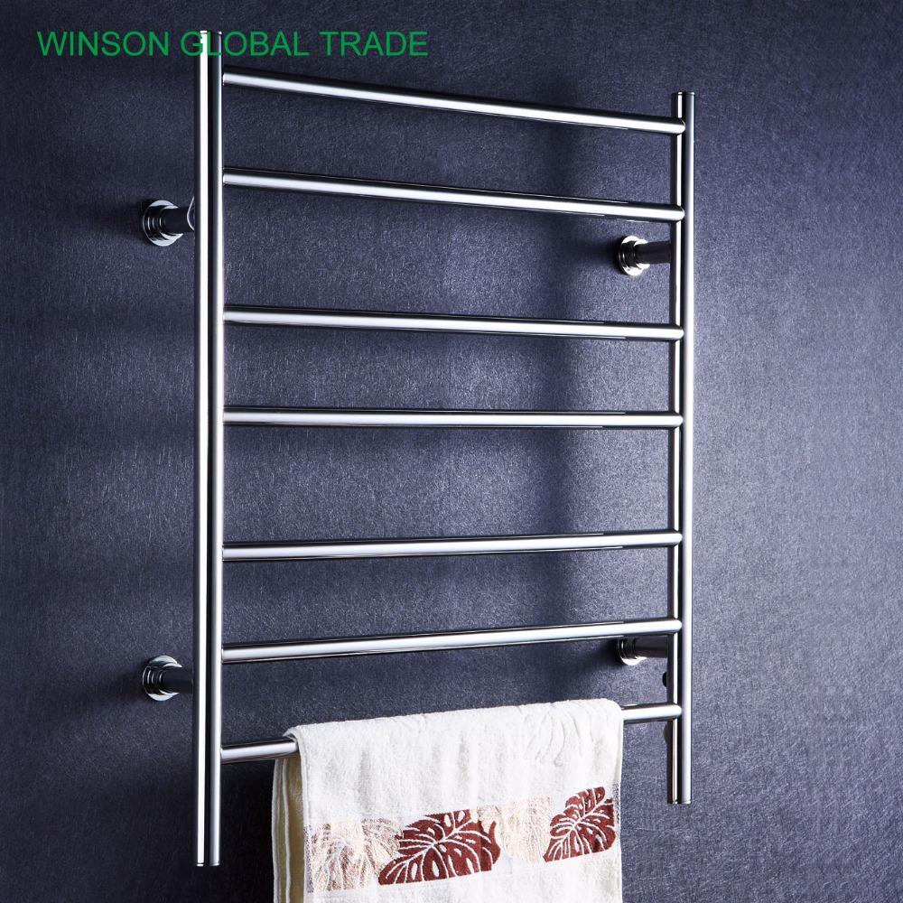 ICD50016 304 Stainless Steel Heated Towel Rail, Banheiro