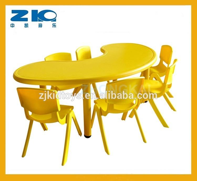 Детский пластиковый стол в виде Луны для продажи