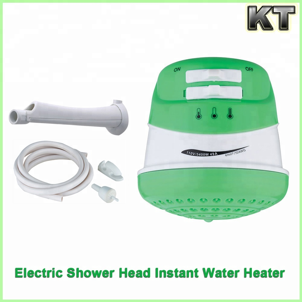220 Volt Tankless Electric Instant Hot Water Shower Head Heater