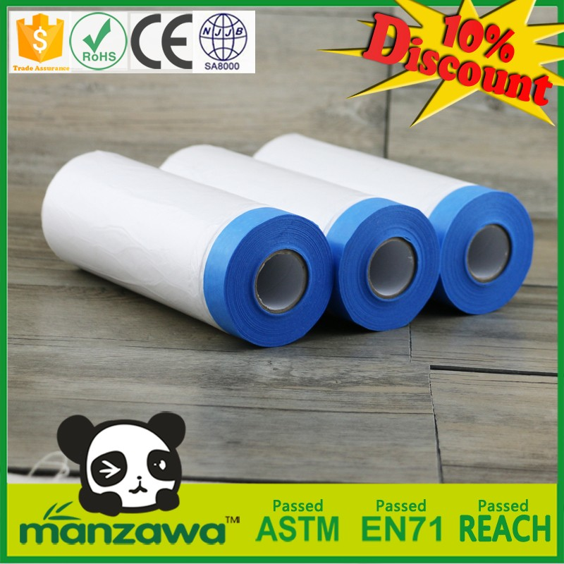 Manzawa painting protective covering film masking tape