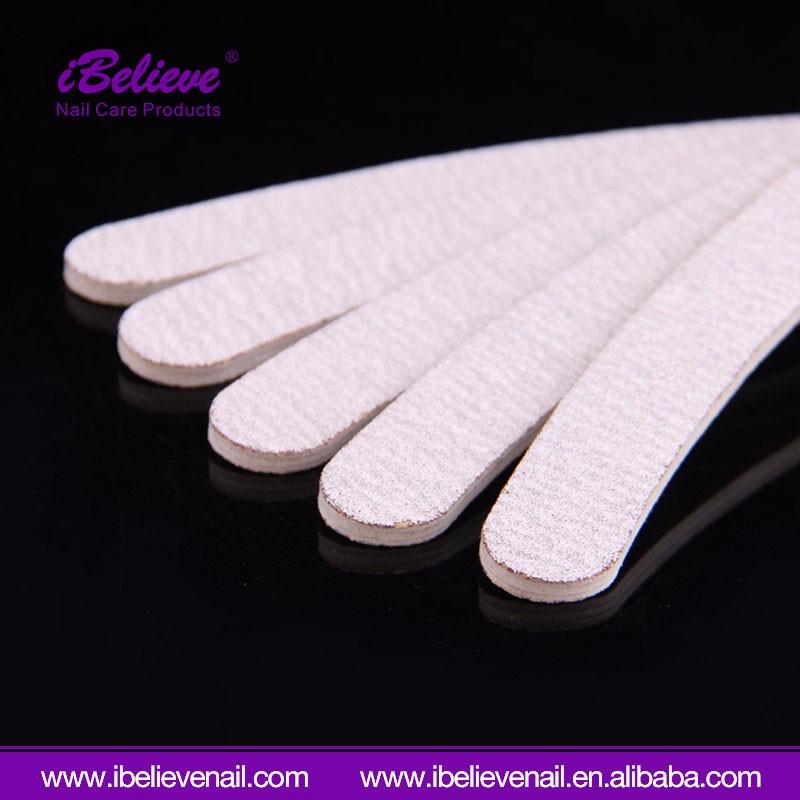 Индивидуальная профессиональная пилка для ногтей OEM zebra для маникюра