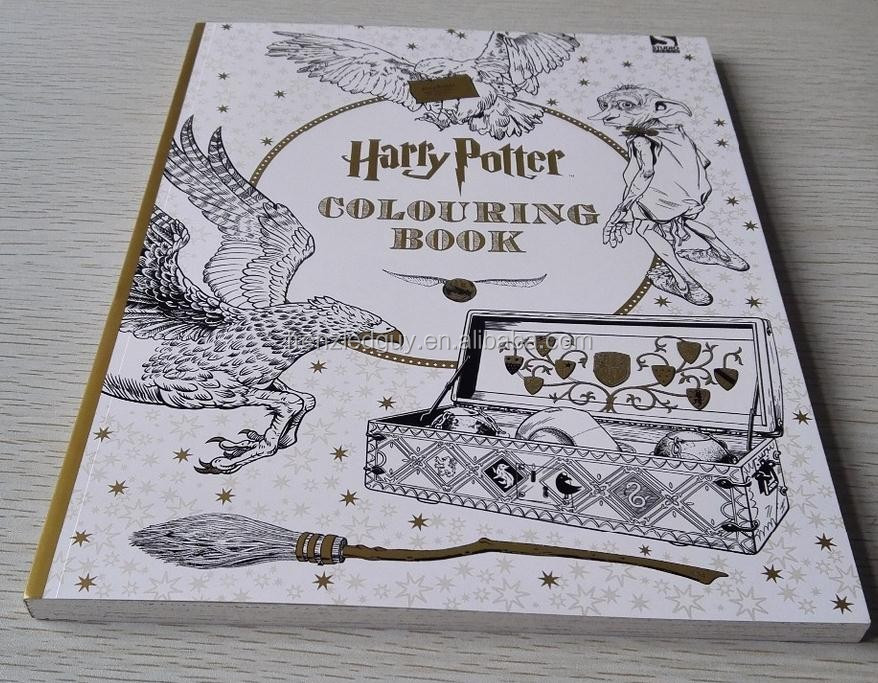 Paper Roll Design Your Own Coloring Book Printing Harry Potter Book - Buy  Harry Potter Book,Book Printing,Coloring Book Printing Product On  Alibaba.com